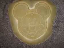 Latex/Rubber Mould/Mold TO MAKE  Mickey Mouse face wall plaque/stepping stone