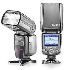 Neewer NW-985C E-TTL 4-Color TFT *High-Speed Sync* Slave Flash for Canon Cameras