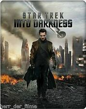 STAR TREK: INTO DARKNESS (Blu-ray 3D + Blu-ray Disc + DVD) Steelbook NEU+OVP