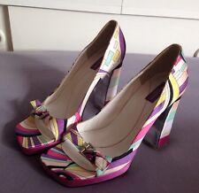 Emilio Pucci - Luxus Leder Schuhe für schöne Beine - 38 1/2