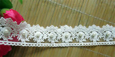 Vintage Cotton Pearl Lace Edge Trim sold per meter