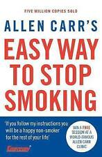 Allen Carr's Easy Way to Stop Smoking, By Allen Carr,in Used but Acceptable cond