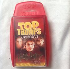 harry potter and the goblet of fire top trumps rare