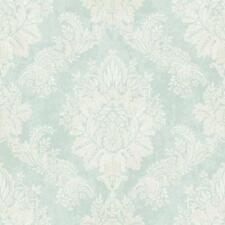 New Rasch - Bloomsbury Damask - Duck Egg - Luxury Textured Wallpaper 204810