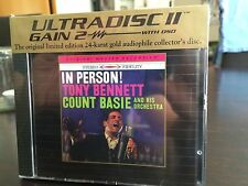 MFSL UDCD 743 Tony Bennett - In Person! With the Count Basie Orchestra  SEALED