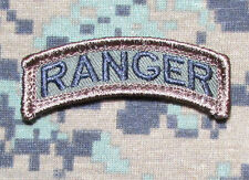 RANGER TAB ROCKER USA ARMY MILITARY US ISAF INFIDEL MORALE FOREST VELCRO PATCH