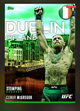 Conor McGregor - Topps UFC 2016 Knockout Digital Stomping Grounds 1 (200) Made