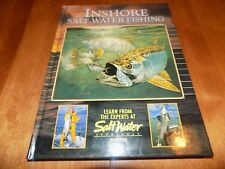 INSHORE SALT WATER FISHING Fisherman Fish Pacific Atlantic Sportfish Book NEW