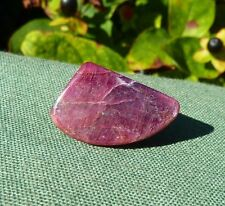 RUBY Polished Crystal Pebble - Amazing Natural Colour 22mm