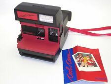 Gorgeous Polaroid Cool Cam Red Black Camera & Matching Case  - FULLYTESTED