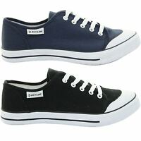 Mens Dunlop Canvas Lace Up Plimsolls Trainer Shoe Pumps