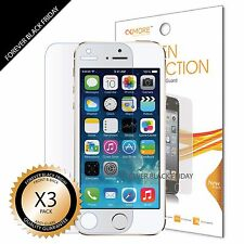 3x Anti-Glare Matte Front Screen Protector Guard For iPhone 5S 5 5C