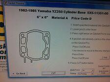 Yamaha YZ250 Cylinder Base Gasket 1982 1983 1984 1985