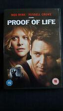 Proof Of Life (DVD, 2001) Meg Ryan / Russell Crowe.