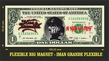 KING DIAMOND IMAN BILLETE 1 DOLLAR BILL MAGNET
