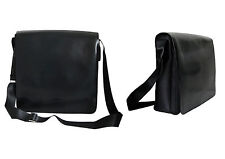 Ledertasche Schultasche Notebook Tasche Umhängetasche Schultertasche Messenger