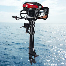173CC 4 Stroke Outboard Motor Boat Engine 5.1 KW 7 HP TCI Air Cooling System,US