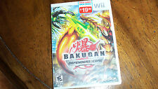 Bakugan: Defenders of the Core  (Nintendo Wii, 2010) BRAND NEW FACTORY SEALED