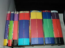 Harry Potter Complete Set Of 7 Hardback Bloomsbury - No dust covers