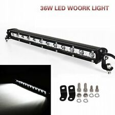 "13""inch 36W LED LIGHT BAR OFFROAD COMBO DRIVING LAMP WORK SUV ATV CAR 4WD BOAT"