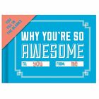 Why You're So Awesome Journal Fill in Blanks Say How You Feel on Mothers Day