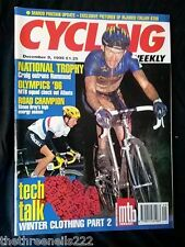 CYCLING WEEKLY - NATIONAL TROPHY -  DEC 9 1995