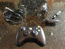 MINT - Microsoft Xbox 360 Wireless Controller for Windows PC + Play & Charge Kit