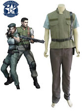 Resident Evil Chris·Redfield S.T.A.R.S. cosplay costume custom any size