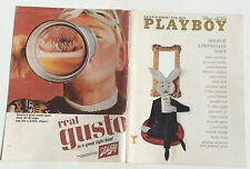 COUVERTURE SEULE / COVER ONLY # PLAYBOY US # 01/1966 #