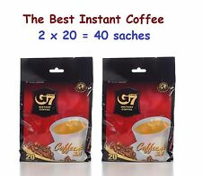 2 bags Trung Nguyen G7 Instant Coffee 3-in-1  (2 x 20 = 40 saches)
