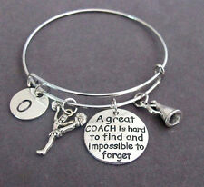 Personalized Coach Bangle,A great Coach is hard to find and impossible to forget