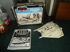 Vintage Star Wars ESB Rebel Armored Snowspeeder Rare Canadian Version!! Blue Box