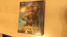 Guardians of the Galaxy Blu-ray Steelbook GROOT + ROCKET lenticular slip Blufans