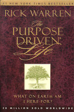 THE PURPOSE DRIVEN LIFE by Rick Warren FREE USA SHIPPING What am I here for?