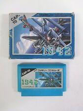 1942 CAP-19 -- Boxed. Famicom, NES. Japan. Work fully. 10139