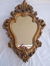 Gold Mirror Ornate Wall Mirror Oval Mirror Vintage Antique Style Mirror