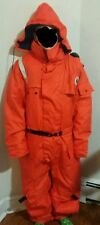 Exxon Valdez Mustang 2175 Anti Exposure Coverall Suit Size Large Adult 42-46