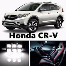 9pcs LED Xenon White Light Interior Package Kit for Honda CR-V 2012-2016