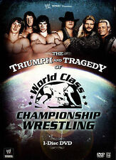 WWE - The Triumph and Tragedy of World Class Championship Wrestling (DVD, 2015)