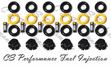 BMW I6 2.5 Fuel Injector Service Repair Kit Orings Filters Pintle Caps CSKBO86