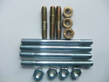 LANDROVER SERIES 3, 2, 2a,  EXHAUST MANIFOLD STUDs & NUTS, 2.25   2 1/4 PETROL