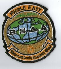 PARCHE RESIDENT EVIL STARS BSAA MIDDLE  EAST   BIOTERRORISM  PATCH