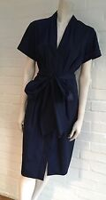 Stunning DONNA KARAN SHIRT MIDI DRESS SIZE US 10 I 46 F 44 UK 16 BLACK LABEL
