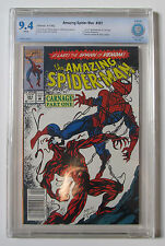 THE AMAZING SPIDER-MAN #361 CBCS 9.4 NM 1992 1st APPEARANCE CARNAGE LIKE CGC