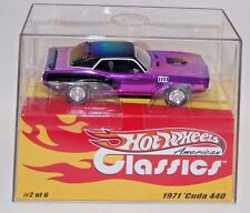 HOT WHEELS AMERICAN CLASSICS 1971 PLYMOUTH CUDA 440  (4293 Of 5000) 1:43
