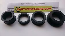 HONDA SP1 SP2 RC51 RVT1000R 2000- 2006 Captive wheel Spacers.  Black
