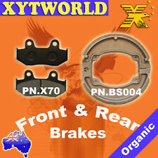 Front Rear Brake Pads Shoes Honda NES125 NES 125 Scoote