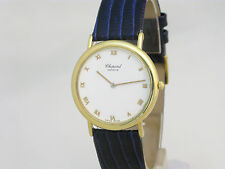 CHOPARD 18ct GOLD GENTS MANUAL WIND  WATCH, MINT CONDITION, REF, 16/3154 + BOX