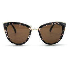 "NEW QUAY AUSTRALIA Tortoise ""MY GIRL"" Retro Cat Eye Sunglasses -SALE"