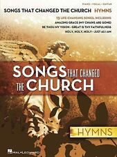 Songs That Changed the Church - Hymns, 2009 piano/vocal/guitar ret $15